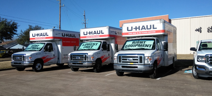 Katy, TX Self Storage Units and UHaul Rental